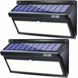 BAXIA TECHNOLOGY Solar Lights Outdoor, 100 LED Solar Motion