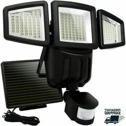 Upgrade Weatherproof Solar Motion Sensor Lights182 LED 1000