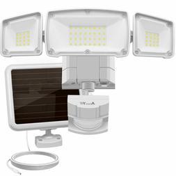 Solar Lights Outdoor, Ultra Bright LED 1500 Lumens 6000K Mot