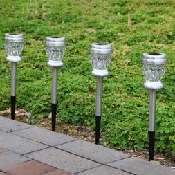 GIGALUMI Solar Lights Outdoor Dual Led Garden Light Landscap