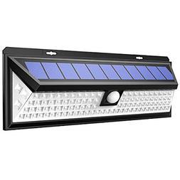 AMIR Solar Lights Outdoor, Enhanced 102 LED Super Bright Mot
