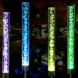 Solar Lights Outdoor Garden Decor Multi-Color Changing Solar