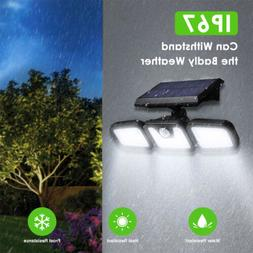Solar Lights Outdoor,LED Waterproof Motion Sensor Lights 3 A
