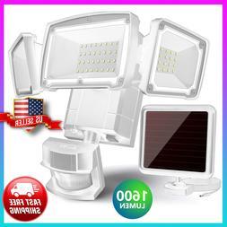 Solar Lights Outdoor Motion Sensor 182 LED 1000 Lumens Solar