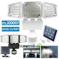 Solar Lights Outdoor Motion Sensor 188 LED 10000 Lumens Sola