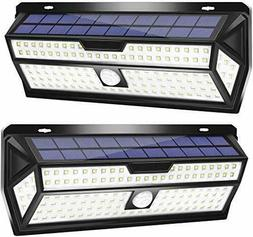 LE Solar Lights Outdoor, Motion Sensor Lights, 132 LED 270°