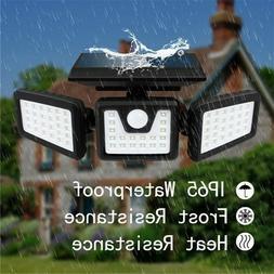 solar lights outdoor spotlight bright led solar