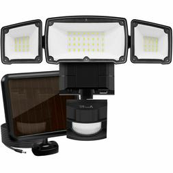 Solar Security Light Outdoor, 1500LM Solar LED Motion Sensor
