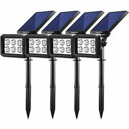 URPOWER Solar Lights Outdoor, Upgraded 2 Modes 2-in-1 Waterp