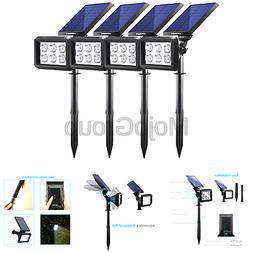 URPOWER Solar Lights Outdoor, Upgraded 2 Modes Solar Lights