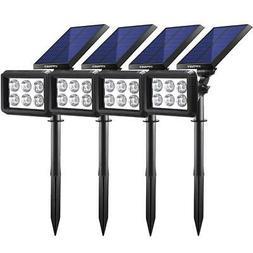 URPOWER Solar Lights Outdoor Upgraded 2 Modes Solar Lights 2