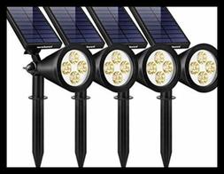 Solar Lights Outdoor Upgraded Waterproof Powered Landscape S
