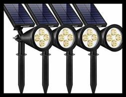Solar Lights Outdoor Upgraded Waterproof Powered Landscape S