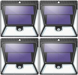 solar lights outdoor with wide lighting area