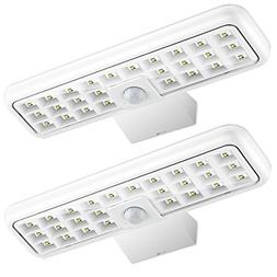 URPOWER Solar Lights Outdoor, 26 LED Waterproof Solar Wall L