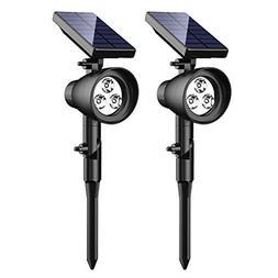 InnoGear Solar Lights Upgraded 2-in-1 Waterproof 3 LED Solar