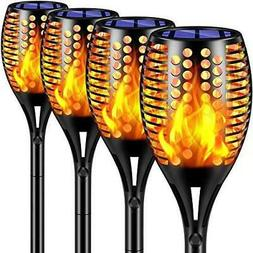 Solar Lights Upgraded Waterproof Flickering Flames Torches O