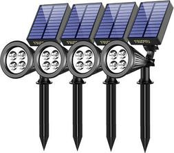 URPOWER Solar Lights Waterproof Solar Lights Outdoor 2-in-1