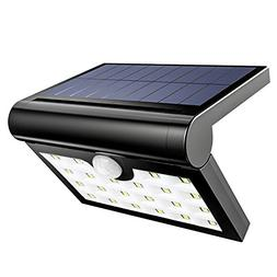 solar lights waterproof wall
