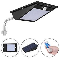 11000mAh Solar Lights Outdoor Wireless Motion Sensor Remote