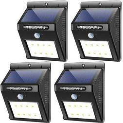 URPOWER Solar Lights Wireless Waterproof Motion Sensor Outdo