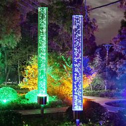 Solar Magical Bubble Lights Color Changing Garden Path Patio