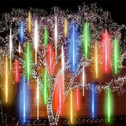 288 LED Solar Lights Meteor Shower Rain Tree String Light Ga