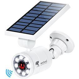 Solar Motion Sensor Light Outdoor Aluminum,1400-Lumens 9Watt
