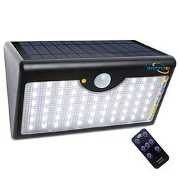 OUYIDE Led Solar Motion Sensor Light 100 Watt Equivalent 60
