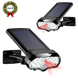 Solar Motion Sensor Light,Vandeng 17 LEDs IP 65 Waterproof W