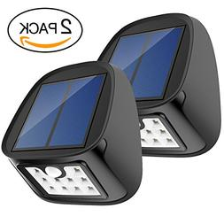 Solar Motion Sensor Lights 10 LED Outdoor Waterproof Wall Li