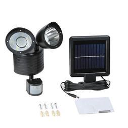 Solar Motion Sensor Lights 22 LED Garage Outdoor Security Fl