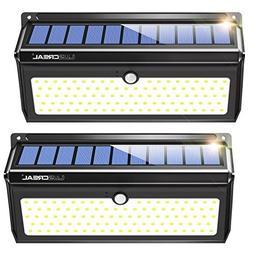 Solar lights Outdoor, Luscreal Super Bright 100 LED Solar Mo
