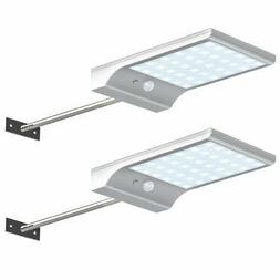 Solar Motion Sensor Wall Light Outdoor Waterproof Detector S