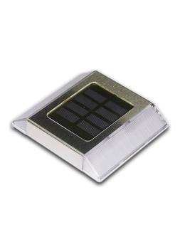 "Classy Caps Solar Path Light, 4.25"" X 4.75"" SilverSL499"