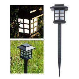 Solar Path Lights Garden Oriental Lantern LED Landscape Lamp