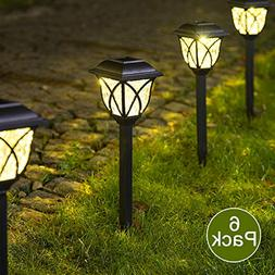 Solpex Solar Pathway Lights Outdoor, LED Solar Garden Lights