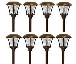 Smartyard Solar LED Pathway Lights - 8 pack