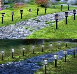 Solar Pathway Lights Outdoor LED Solar Powered Garden Lights