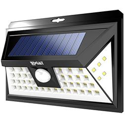 Solar Outdoor Patio Deck Lights 48 LED - Outside Motion Sens