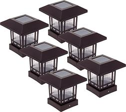 Westinghouse 6 Pack Solar 20 Lumens Post Cap Light for 4 x 4