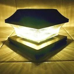 Sogrand Solar Post Cap Lights 4 x 4 Plus Bright 15 Lumen 2 P