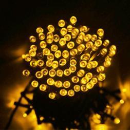 Solar Power 100-300 LED String Lights Waterproof Outdoor Fai