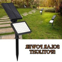 Solar Power 48-LED Spotlight Landscape Lights Outdoor Garden