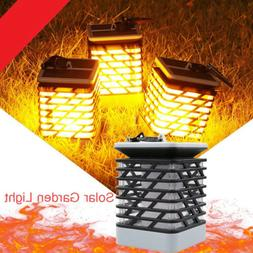 Solar Power - 75LED Path Torch Lights Dancing Flame Lighting