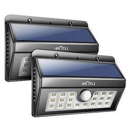 Solar Power Dusk to Dawn Sensor Motion Waterproof Security L