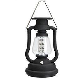 Briday Solar Power Lantern Antique Light Lamp 16 LED Garden