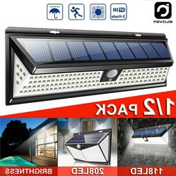 Solar Power LED Outdoor Lamp PIR Motion Sensor Waterproof Ya