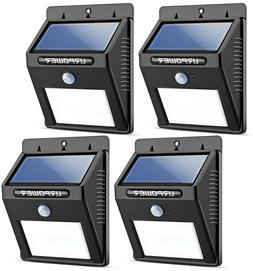 Solar Power Motion Sensor Outdoor Patio Security Lights LED