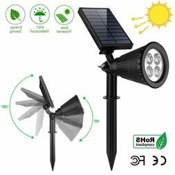 Solar Power Spot Light Outdoor LED Garden Lawn Landscape Lam